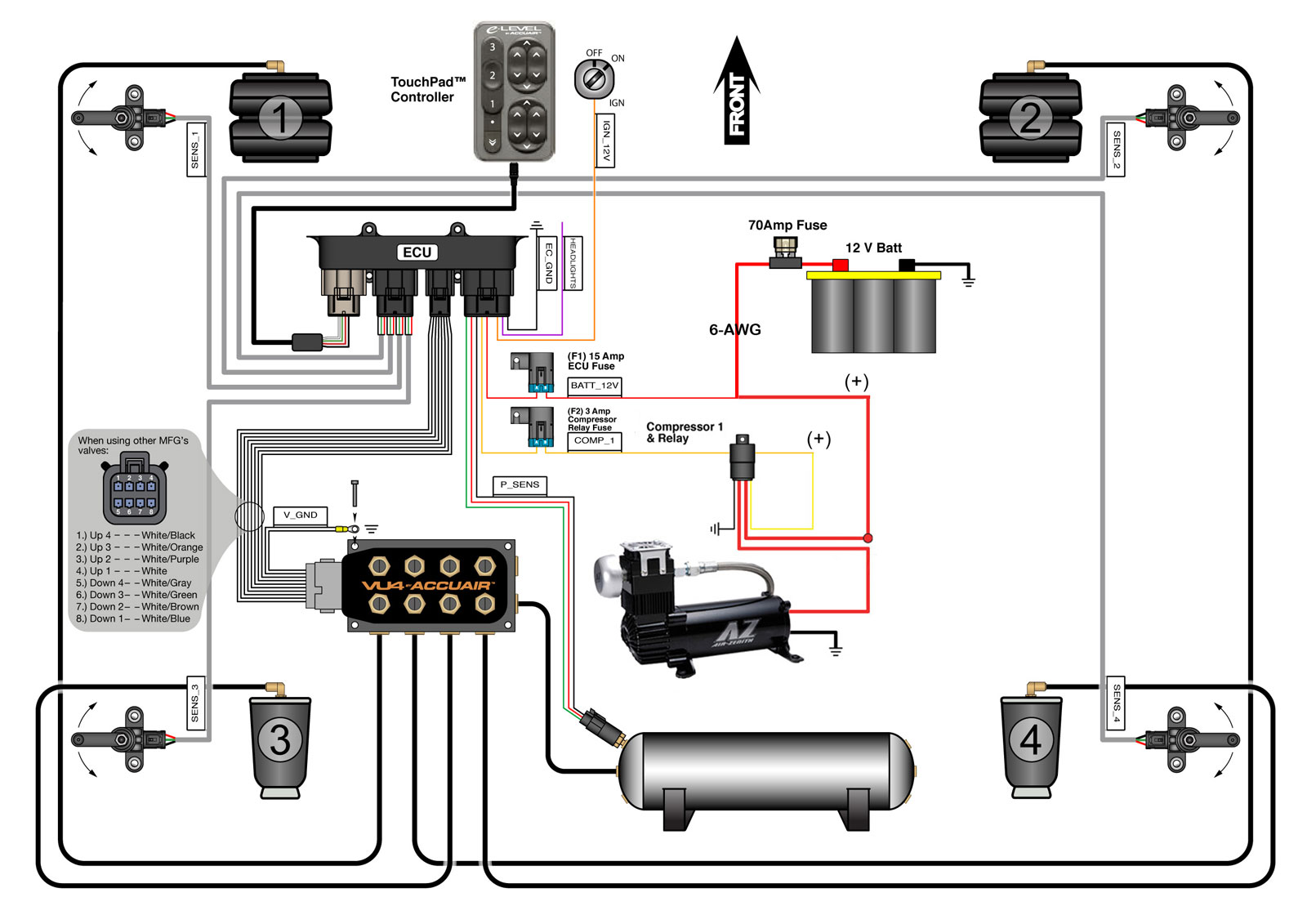Air Compressor Relay Wiring Diagram