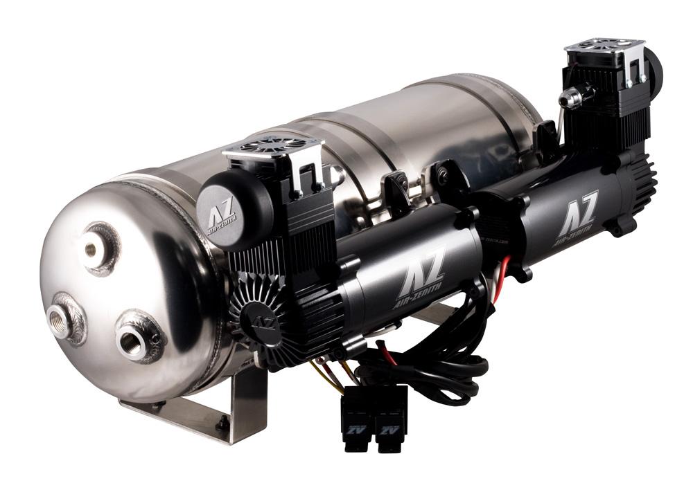 AIR ZENITH 220PSI Digital Pressure Gauge Air Ride Bagged Rat Rod Mini